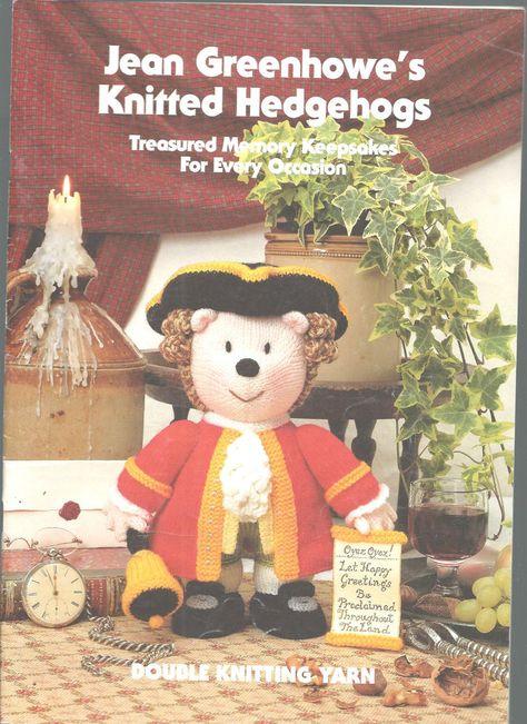 Knitted Hedgehogs Jean Greenhowe DK Knitting Patterns