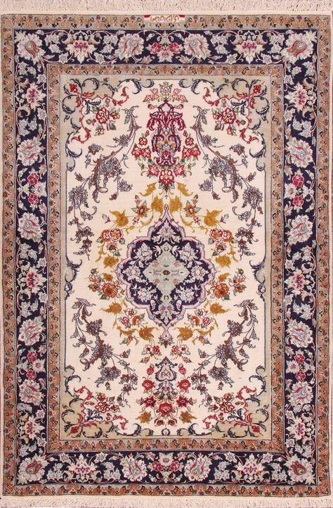 Tapis Isfahan Partir De Iran 170 X 110 Cm Tapis Moderne Tapis