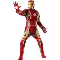 f380455c27b Age of Ultron Deluxe Iron Man Mark 43 Costume - RC-810296 from Superheroes  Direct