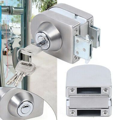 Details About 10 12mm Glass Door Lock 304 Stainless Steel Single Bolts Swing Push Sliding Lock In 2020 Double Glass Doors Glass Door Lock Frameless Glass Doors