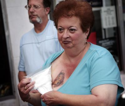 Cheese grilled mary tattoo virgin