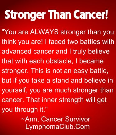 "Quotes For Cancer Patients Fair Stronger Than Cancer  The ""journey""  Pinterest  Uplifting"