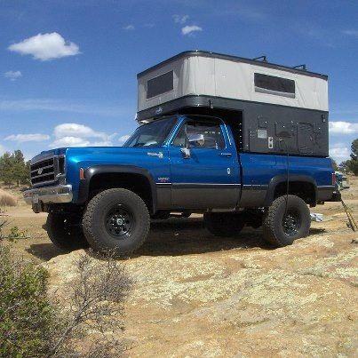 My Favorite Pop Up Slide In Truck Camper Design For Diy Mobile