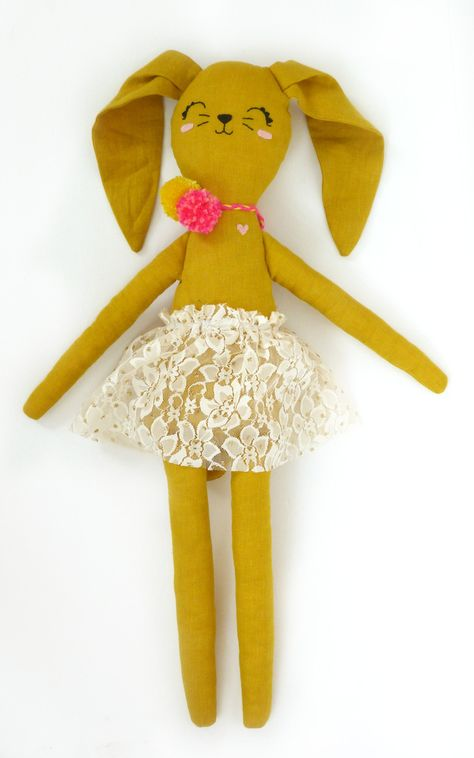 Image of Bunny Numbered Doll #16