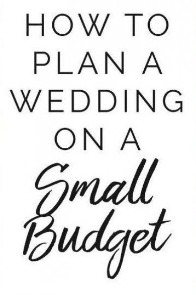 How To Plan A Wedding On A Small Budget People Are Becoming More Challenged When Having To Plan A Decent Wedding With On In 2020 Wedding Planning How To Plan Wedding