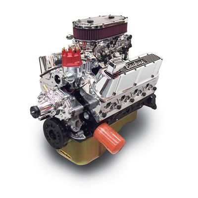 Edelbrock Performer RPM Dual-Quad 347 C I D  449 HP Long