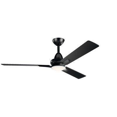 Red Barrel Studio 52 Madelina 3 Blade Led Ceiling Fan With Remote
