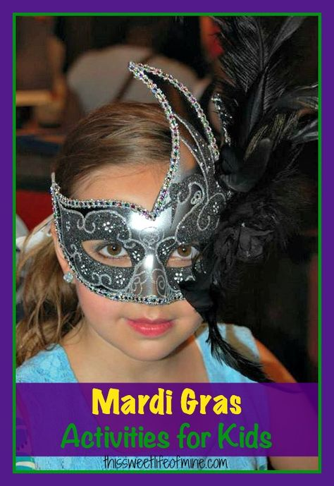 Mardi Gras activities for kids | thissweetlifeofmine.com