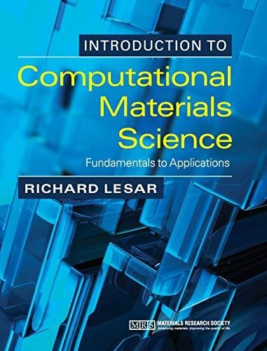 Introduction to Computational Materials Science: Fundamentals to Applications - Default