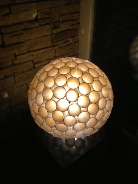 Lampe Aus Plastikbecher Lampen Dekoration Und Gestalten