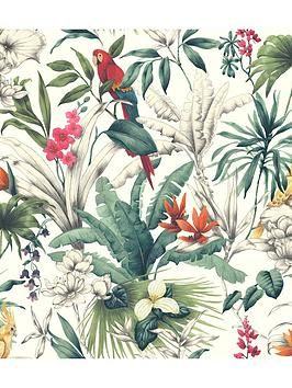 Accessorize Birds Of Paradise Wallpaper Paradise Wallpaper Bird Wallpaper Wallpaper Direct