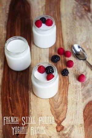 Instant Pot French Style Potted Yogurt Recipe Instant Pot Yogurt Instant Pot Yogurt Recipe French Yogurt Recipe