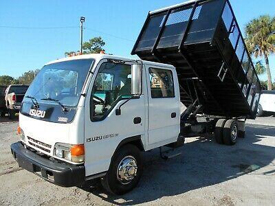 Ad Ebay Link 2004 Isuzu Npr Hd Base 2004 Isuzu Npr Hd Crew Cab Dually Dump Body Mobil Keren Mobil