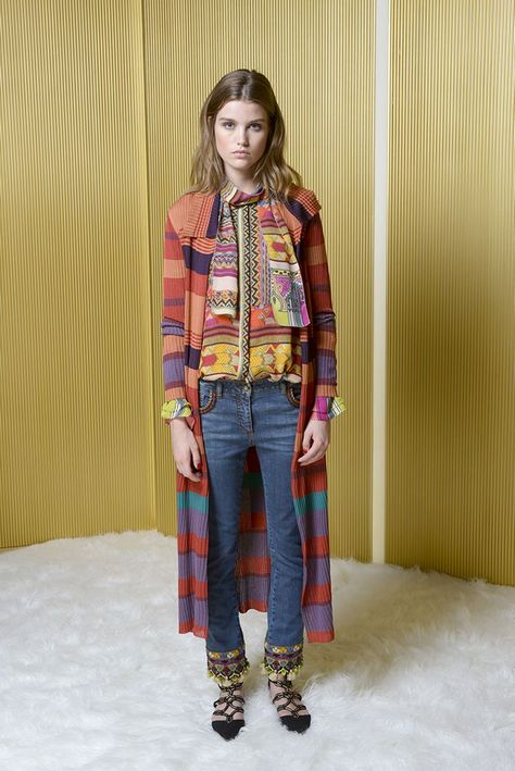 Fashion Label Etro move on towards the runway in Milan with their Resort 2017 collection