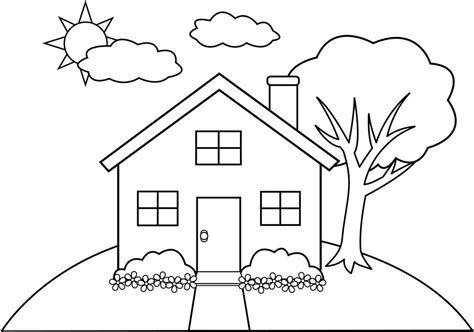 25 If You Are Looking For Free Printable School House Coloring Pages You Ve Come To The Right Pla House Colouring Pages Coloring Pages House Drawing For Kids