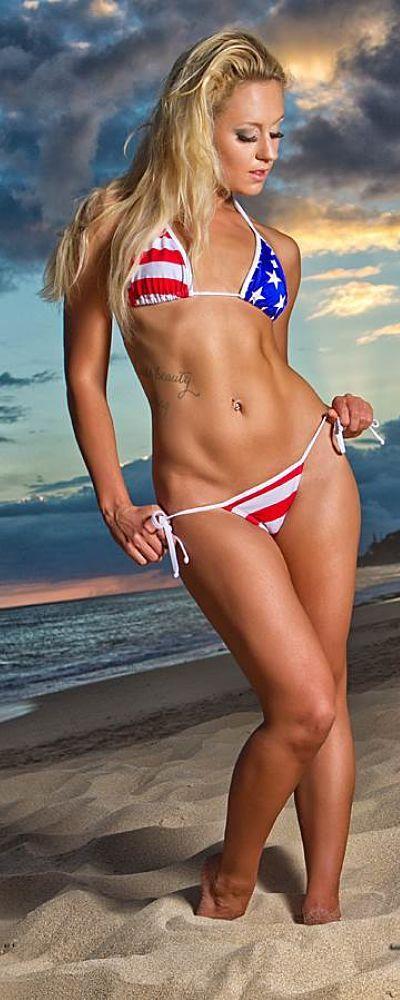 Usa nation bikini team