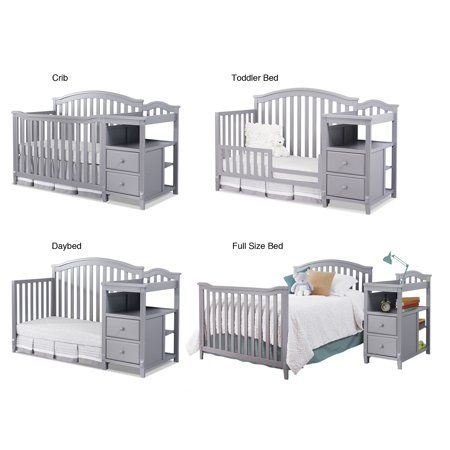 Sorelle Berkley 4 In 1 Convertible Crib And Changer Espresso Walmart Com Baby Crib Diy Baby Cribs Convertible Nursery Baby Room 4 in 1 convertible cribs