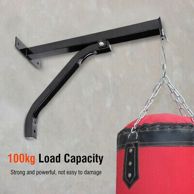 Best Boxing MMA Heavy Duty Punch Bag Wall Bracket Steel Mount Hanging Stand