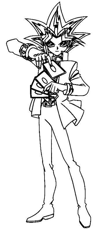 Yu Gi Oh 7 Dibujos Faciles Para Dibujar Para Ninos Colorear Colorear Para Ninos Dibujos Dibujos Para Colorear