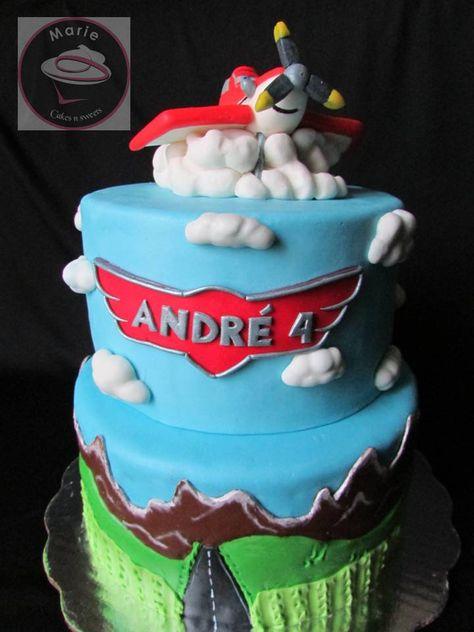 Pastel de Aviones, Planes cake