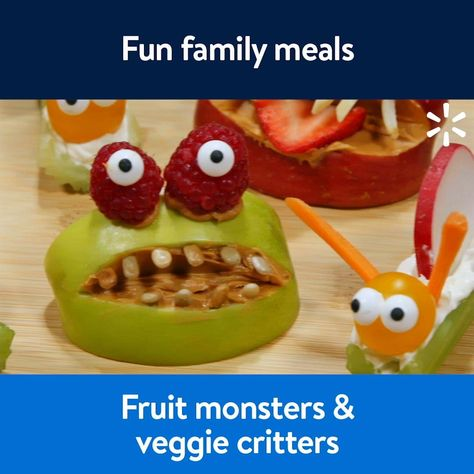 Fruit monsters  veggie critters