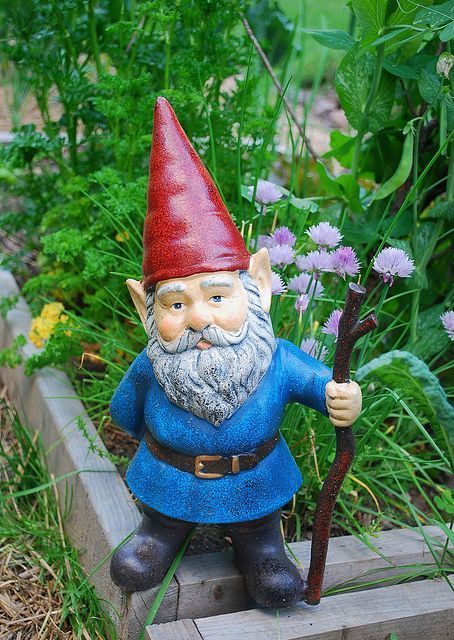 L'histoire Du Nain De Jardin : l'histoire, jardin, Idées, Jardin, Jardin,, Jardins,, Gnome