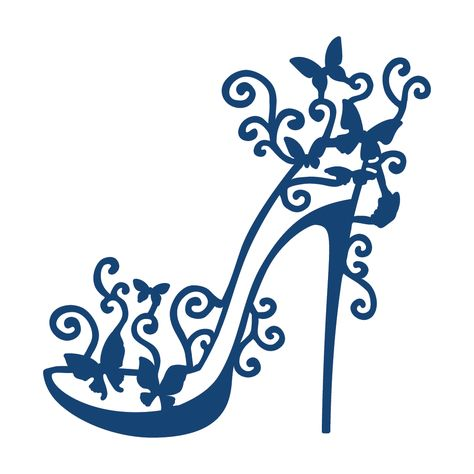 Product – High Heel Glam (D034) | Tattered Lace