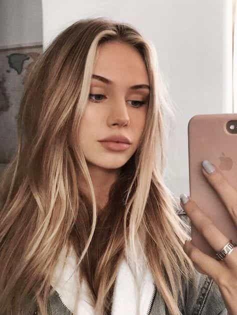 Makeup Dark Blonde Hair Hair Styles Hair Highlights