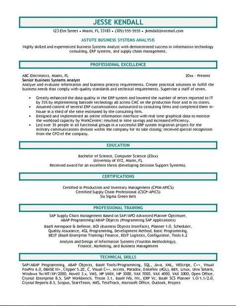 Actuarial Analyst Resume Resume Examples Pinterest - market analyst resume