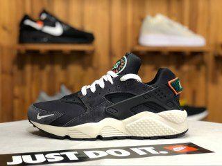 Nike Air Huarache Run Premium Black