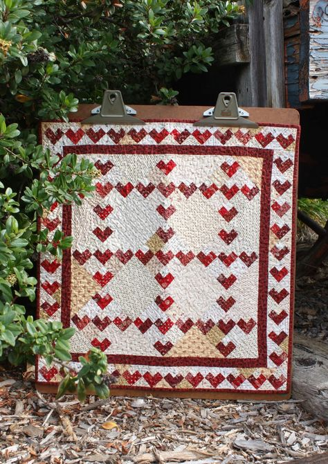 Happy Valentine's Day quilt