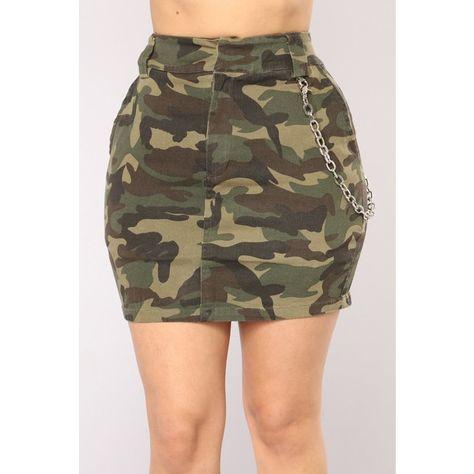 Camo In Command Skirt – Camo – Daily Fashion
