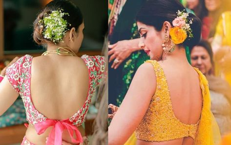 23+ Sexy Backless Blouse Designs that are Sure to Turn some