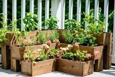 22 Idees De Jardins Sureleves A Faire Soi Meme Design De Petit