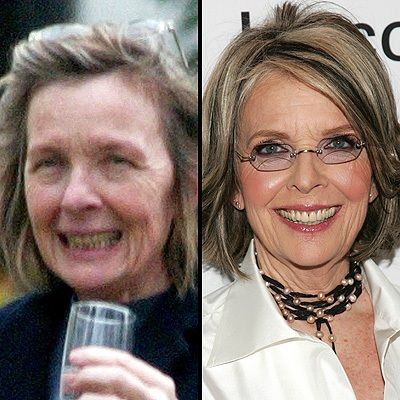 Celebrity with no makeup: Diane Keaton without makeup along with about twenty others Loading. Celebrity with no makeup: Diane Keaton without makeup along with about twenty others