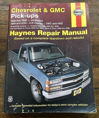 Advertisement Ebay Haynes Repair Manual 24065 Chevrolet Gmc S10
