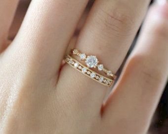 Magnificent White Gold Rings Without Stones D Simple Engagement Rings Diamond Engagement Ring Simple Yellow Gold Diamond Engagement Ring