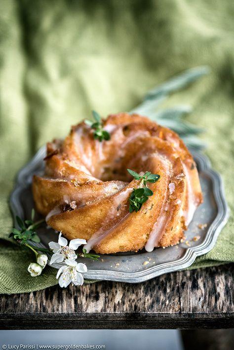 Lemon, Thyme, Ricotta and Semolina Cake supergolden bakes