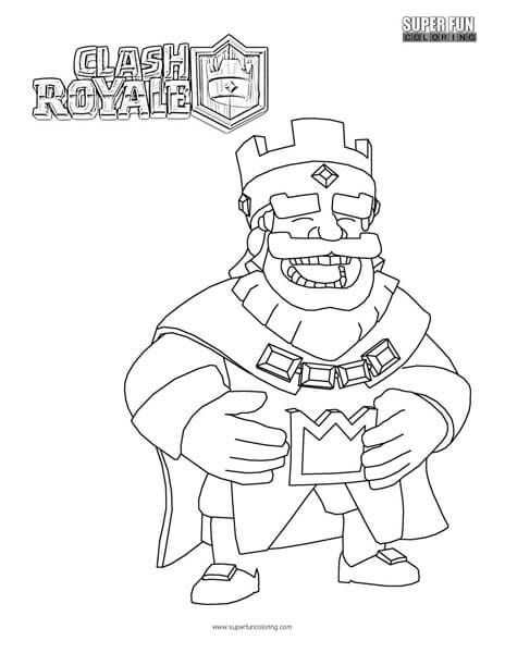 Clash Royale Coloring Page | Super Fun Coloring Pages | Cool