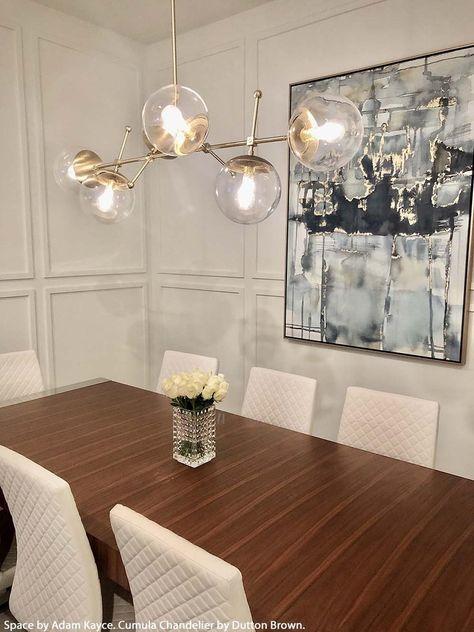 Globe Chandelier, Modern Room, Dining Room Chandelier Modern, Island Light Fixtures, Modern Chandelier, Bubble Chandelier, Modern Dining Room Lighting, Dinning Room Lighting, Dining Table Lighting