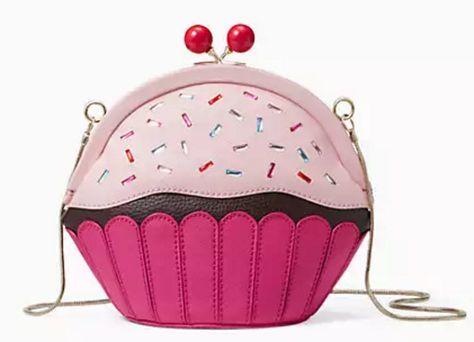Darling kate spade cupcake crossbody