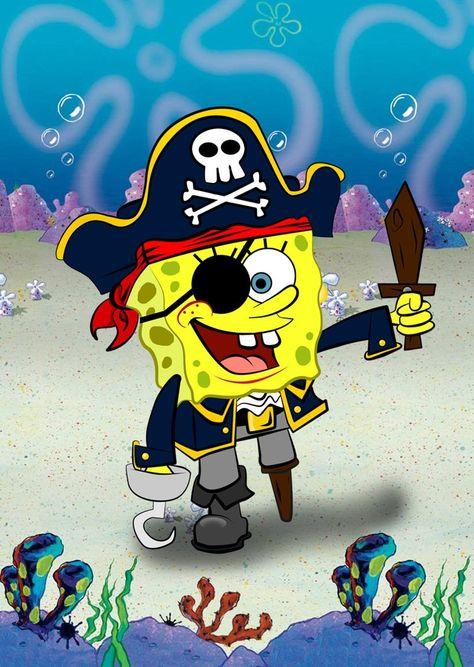 SpongeBOB the Pirate by m0rphzilla on DeviantArt