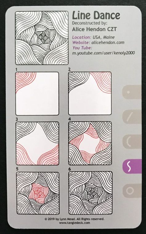 Tangle Deck 3 Now Available Doodle Art Deck doodle art for beginners doodleideas drawing drawingpatterns Tangle Zentangle Easy Zentangle Patterns, Zen Doodle Patterns, Doodle Art Designs, Easy Patterns To Draw, Art Patterns, Zentangle Art Ideas, Trippy Patterns, Doodle Borders, Line Patterns