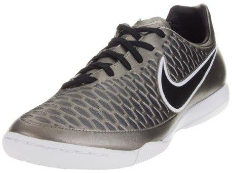 Nike Men's Magista Onda IC Indoor Soccer Shoe Mtlc Pewter/Blk/Ghst Grn/White