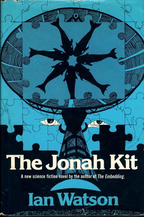 The Jonah Kit by Ian Watson 1975 vintage HB book DJ ref22 (1),The Jonah Kit by Ian Watson 1975 vintage HB book DJ ref22 This is a pre-owned book in good condition with dustjacket. Please see photo and read full description for condition., #FictionBooks
