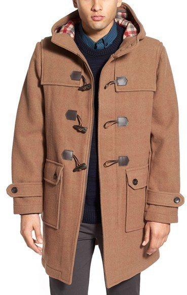Men's Wool Duffle Coat   Coats, Wool and Duffle coat
