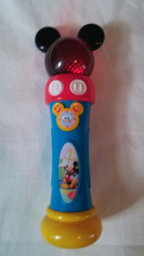 Disney Mickey Mouse Clubhouse Musical Lights Up Microphone Hot