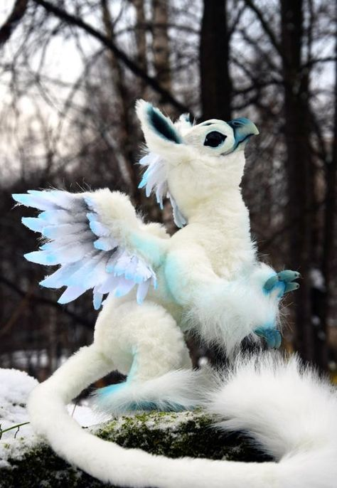 Pocket-sized Griffin by GakmanCreatures on Etsy