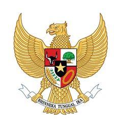 Garuda Indonesia Indonesia National Emblem Vector Image On Vectorstock Coat Of Arms Indonesia Emblems