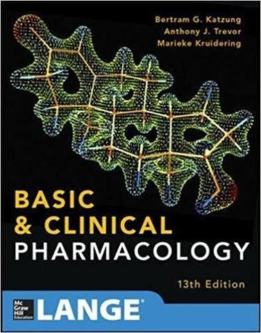 Basic And Clinical Pharmacology 13th Edition 978 0071825054 Pharmacology Medical Student Humor Medical School Humor